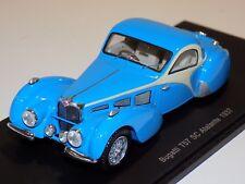 1/43 Spark  Bugatti T57 SC Atlante Coupe  from 1937 in Blue  S2723