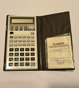CR Casio Taschenrechner FX 3600 P 1986 Vintage Funktionsfähig Calculator