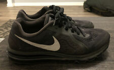 Nike Air Max 2014 Black Silver Model (621077-001) Men's Size 10 Athletic Shoes