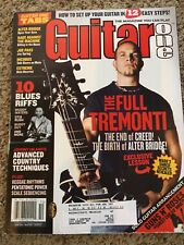Guitar One Magazine Back Issue August 2005 Mark Tremonti