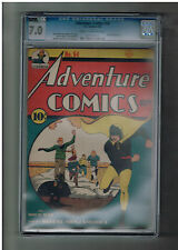 Adventure Comics #54 Cgc Grade 7.0 Gold Age (1940) find starring Hourman from Dc
