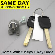 New Left Driver Door Lock Cylinder For Honda Accord 2003-07 4 Door 72181SDAA11
