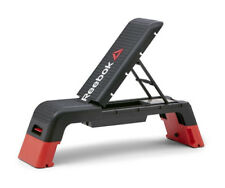 Reebok Studio Deck Aerobic Step Bench Portable Exercise Platform