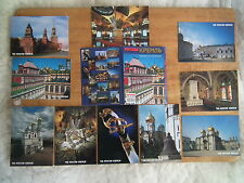 Colour Postcards of Moscow – The Kremlin. 10 of a set of 16