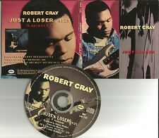 ROBERT CRAY Just a Loser RARE FOLD OPEN Sleeve 1992 PROMO DJ CD single CDP732