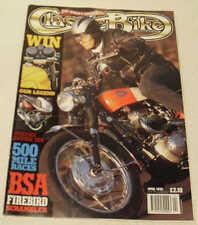 Classic Bike 4/95 Suzuki T20, BSA A65 Firebird, Gnome Rhone SSDT Greeves Anglian