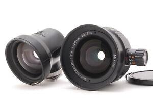 *NEAR MINT* NIKON UW Nikkor 20mm F/2.8 w/20mm Viewfinder For Nikonos From Japan