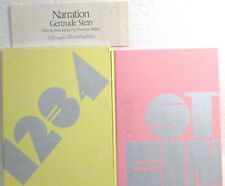 GERT. STEIN-NARRATION BOXED COLLECTOR'S ED.1969-UNREAD COPY-TCHELITCHEF PORTRAIT