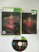 DIABLO III 3 XBOX 360 GAME PAL COMPLETE WITH MANUAL
