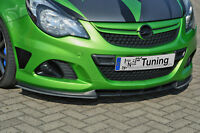 Frontspoiler Flaps L/R Cuplippe ABS Opel Corsa D OPC Nürburgring Edition