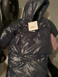 7 Am Midnight Blue Bag Coat