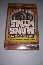 "TRANS AMERICAN SWIM & SNOW ADVENTURE TUBE 40"" INFLATABLE POOL RIVER FLOAT  NEW"
