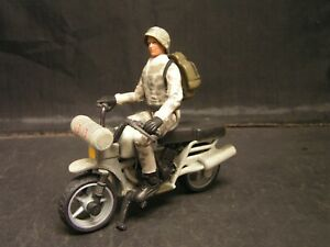 World Peacekeepers WWII GERMAN MILITARY MOTORCYCLE & Articulated Action FIGURE