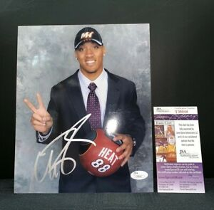 MICHAEL BEASLEY MIAMI HEAT NBA SIGNED 8X10 PHOTO JSA COA
