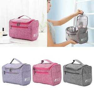 Travel Extra Large Cosmetic Makeup Wash Toiletry Bag Portable Organizer Handbag