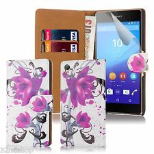 32nd Design Book Wallet PU Leather Case Cover for Sony Xperia Z2 Mobile Phone
