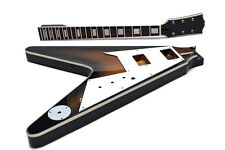 Kit DIY Guitarra eléctrica Flying V - Unfinished electric guitar Kit DIY