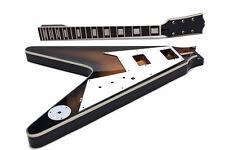 Kit DIY Guitarra eléctrica Flying V - Unfinished electric guitar Kit DIY