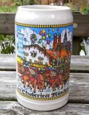Oktoberfest Maßkrug, Maß, von 1985 - alle Brauereien, auch Augustiner
