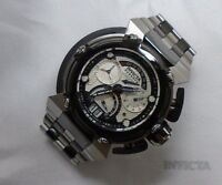 Invicta Mens Reserve Specialty Swiss 8040.N Chrono Day Retrograde Gunmetal Watch
