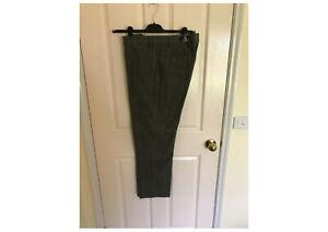 "Loro Piana men's long pants - Charcoal/pattern - Size 50 Waist 35"" - As New"
