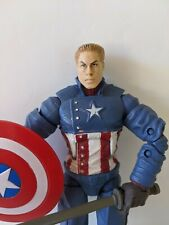 MARVEL LEGENDS SERIES Ultimate Capitán América HASBRO figura 2008 Steve Rogers
