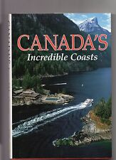 NATIONAL GEOGRAPHIC SOCIETY, CANADA'S INCREDIBLE COASTS  BOOK, VERY COLORFUL,