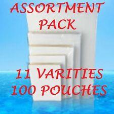 ASSORTMENT PACK Laminating Laminator Pouches 11 VARIETIES 100 PC LETTER 5 Mil