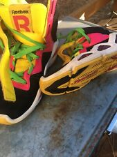 Reebok Hexalite Womens Chi Kaze High Top Retro Sneaker (Multi Color) Sz 7.5