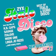 CD ZYX Italo Disco New Generation Vol.17 von Various Artists 2CDs