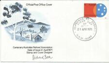 Australia Fdc 1971 Centenary Australian Natives Association