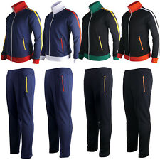 Tracksuit Training Jogging Sweatshirt Warm Up Jackets Pants Top Gym Sweat Suit