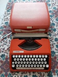 Typewriter Hermes baby orange (revised) similar to Olivetti Leterra 82