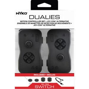 Nyko Dualies Motion Controller for Nintendo Switch - Black (87240-E09) ™