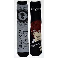 Death Note Crew Socks 2 Pairs, Light, Ryuk Anime