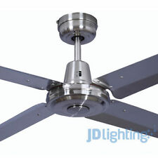 Stainless steel ceiling fans ebay without light mozeypictures Images