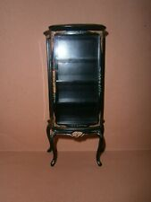 "Dollshouse 1/12"" Miniature Bespaq Lacquered Display Cabinet"