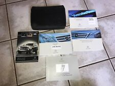 2008 MERCEDES GL-CLASS OWNERS MANUAL AND LEATHER CASE
