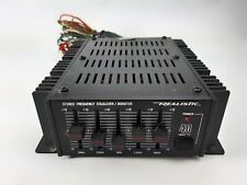 New listing Vintage Auto Realistic 12-1863 - Stereo Frequency Equalizer / Amplifier 40 Watts