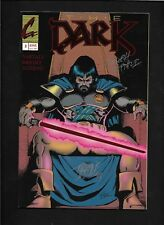 The Dark #3 VF SIGNED Continum Comics Foil Cover Comic Book Naftali  -RARE !!