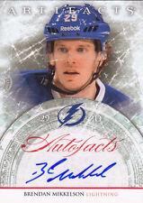 2012-13 Upper Deck Artifacts Brendan Mikkelson TB Lightning Autograph Auto Card