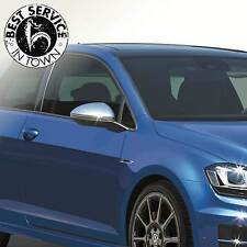 """Original VW Golf VII 7 """"R"""" Aussenspiegelkappen - Spiegelkappen Set  Farbe: Alu"""