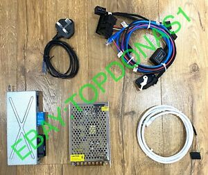 COMPLETE KIT FOR BENCH  FLASHING F SERIES BMW NBT / EVO  CAN BRIDGE ZGW 02 4SK