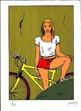 Ex libris Luka - Gilles Mezzomo - 1996