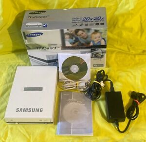 🌸 Samsung TruDirect SE-S204 DVD Recorder DVD+R/DVD-R **PC ONLY** NEW OPEN BOX