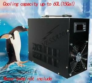 1PCS Aquarium fish tank Electronic water chiller water cooler Cooling up to 60L