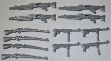Toy Soldiers of San Diego TSSD WWII German Weapons Set TSSD-GWSET - Set of 12