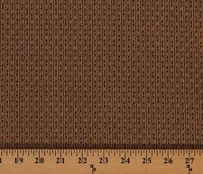 Cotton Jo Morton's Best Friends Thin Brown Stripe Fabric by the Yard M719.04