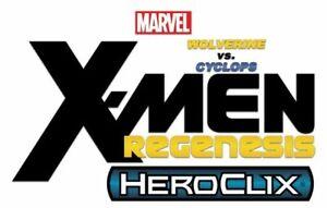 Marvel Heroclix Deep Cuts Unpainted Miniatures: X-Men