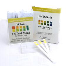 Body Level Alkaline PH Dual Test Strips Kit Urine & Saliva PH 100 Strip-Durable